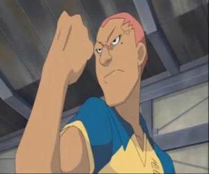 Układanka Ryugo Someoka lub Kevin Dragonfly, w złym humorze napastnik z Raimon piłce nożnej