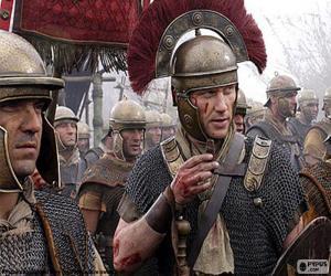 Układanka Rzymscy żołnierze