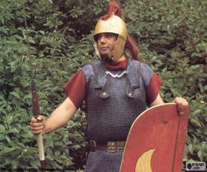 Układanka Rzymski żołnierz