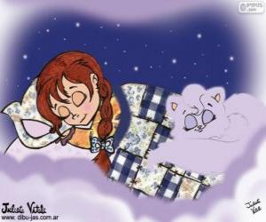 Układanka Słodkich snów. Rysunek z Julieta Vitali
