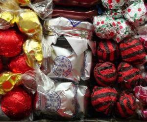 Układanka Słodycze