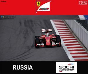 Układanka S. Vettel, Grand Prix Rosji 2015