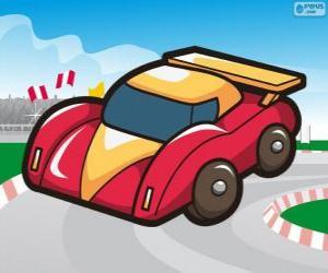 Układanka Safety car