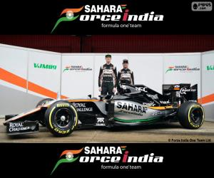 Układanka Sahara Force India F1 2016