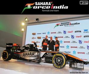 Układanka Sahara Force India F1 team 2015