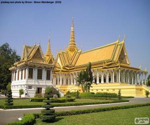 Układanka Sali tronowej, Kambodża