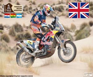 Układanka Sam Sunderland, Dakar 2017