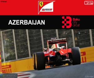 Układanka Samochód S.Vettel, Grand Prix Europy 2016