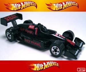 Układanka Samochód wyścigowy Hot Wheels