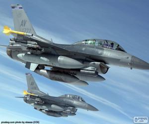 Układanka Samoloty wojskowe