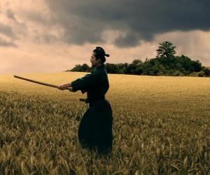 Układanka Samuraj ćwiczenia z katana