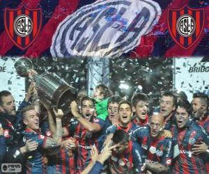Układanka San Lorenzo de Almagro, mistrz Copa Libertadores 2014
