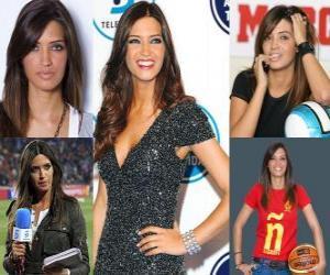 Układanka Sara Carbonero to hiszpański dziennikarz sportowy.