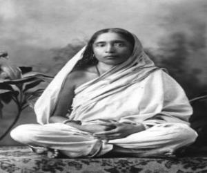 Układanka Sarada Devi, żonę i partnera duchowego Ramakrishna Paramahamsa