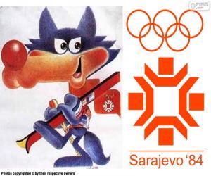 Układanka Sarajewo Zimowych Igrzyskach Olimpijskich 1984