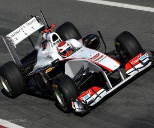 Układanka Sauber C30 - 2011 -