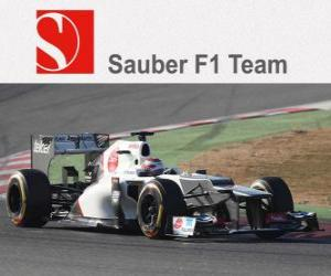Układanka Sauber C31 - 2012 -