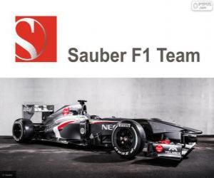 Układanka Sauber C32 - 2013 -