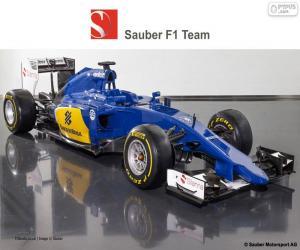 Układanka Sauber F1 Team 2015
