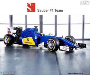 Układanka Sauber F1 Team 2016