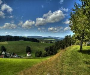 Układanka Schwarzwald Landscape