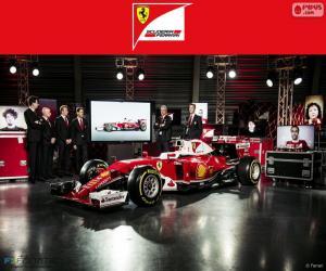 Układanka Scuderia Ferrari 2016