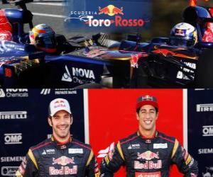 Układanka Scuderia Toro Rosso 2013