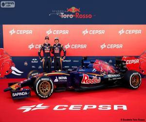 Układanka Scuderia Toro Rosso 2015