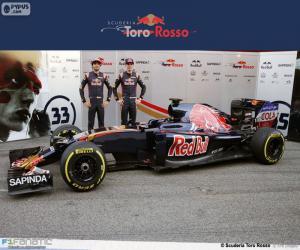 Układanka Scuderia Toro Rosso 2016