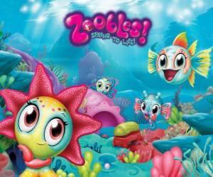 Układanka Seagonia, Morza Zoobles