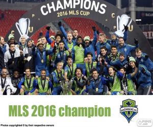 Układanka Seattle Sounders, MLS 2016