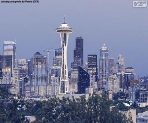 Układanka Seattle, Stany Zjednoczone