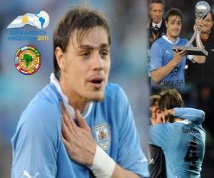 Układanka Sebastian Coates najlepsze objawienie Copa America 2011