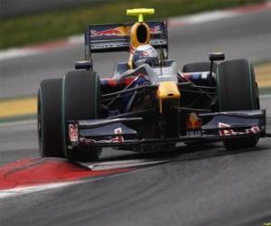 Układanka Sebastian Vettel pilotowanie jej F1