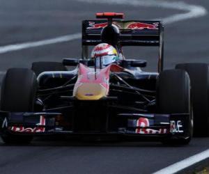 Układanka Sebastien Buemi - Toro Rosso - Hungaroring 2010