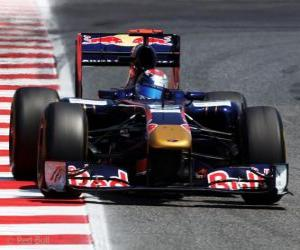 Układanka Sebastien Buemi - Toro Rosso - Barcelona 2011