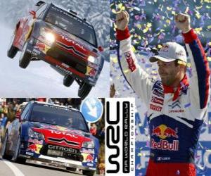 Układanka Sebastien Loeb (Citroen) Rajdowy mistrz świata 2010