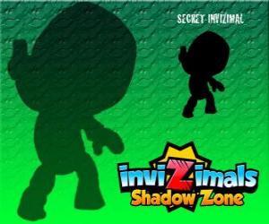 Układanka Secret Invizimal. Invizimals Następny wymiar. Nikt nie wie nic o tym Invizimala tajemnicze i tajne