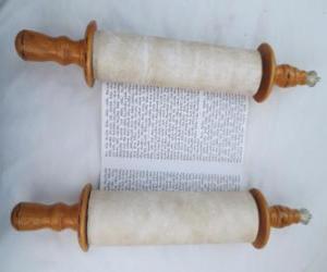 Układanka Sefer Tora, przewijania Tora