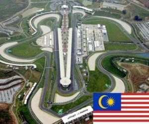 Układanka Sepang International Circuit - Malezja -