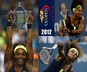 Układanka Serena Williams 2012 US Open Champion