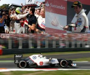 Układanka Sergio Pérez - Sauber - Grand Prix Włoch 2012, 2ga sklasyfikowane