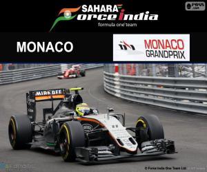 Układanka Sergio Perez, Grand Prix Monako 2016