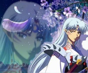 Układanka Sesshomaru, brat Inuyasha. W sumie bez skrupułów demon kto nienawidzi swego brata, ludzie i słabych