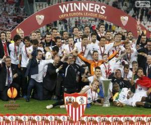 Układanka Sevilla FC, mistrz UEFA Europy League 2013-2014
