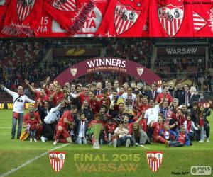 Układanka Sevilla, mistrz ligi Europa 2014-2015