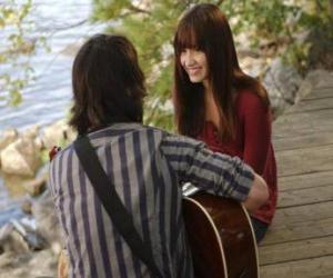 Układanka Shane (Joe Jonas) śpiewanie Mitchie Torres (Demi Lovato)
