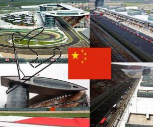 Układanka Shanghai International Circuit - Chiny -