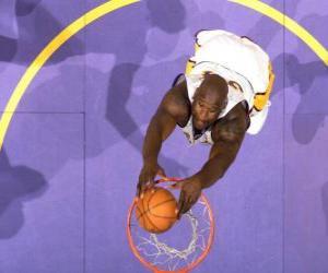 Układanka Shaquille O Neal będzie dla slam dunk