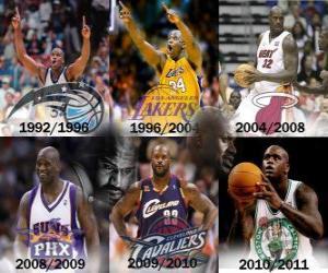 Układanka Shaquille O'Neal za najbardziej dominującym graczem w historii NBA. W dniu 01 czerwca 2011 ogłosił zakończenie kariery